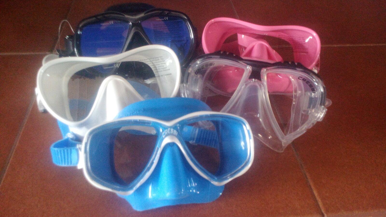 ¿Cómo elegir una máscara de buceo adecuada?