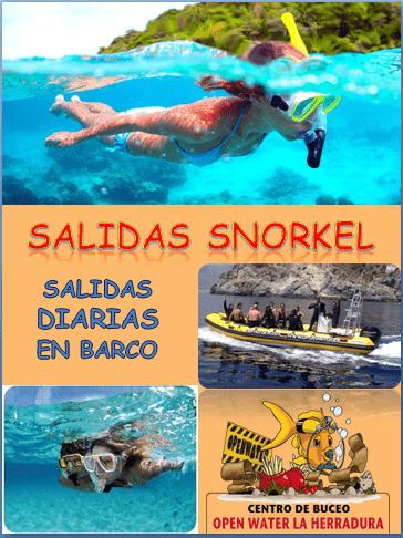 Salidas Snorkel en La Herradura