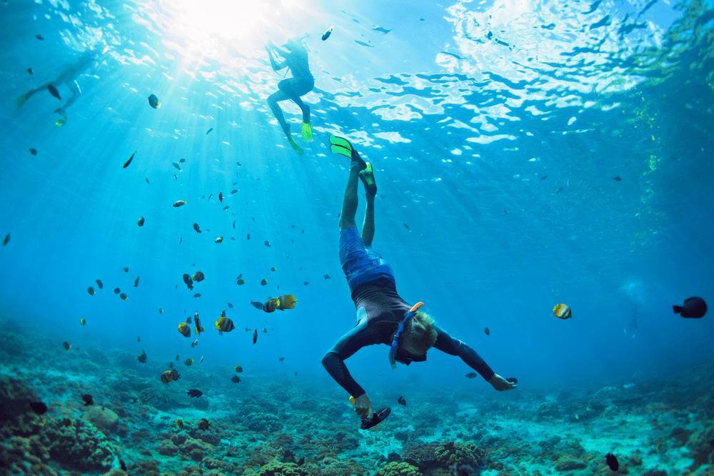 Los mejores lugares para hacer snorkel en España